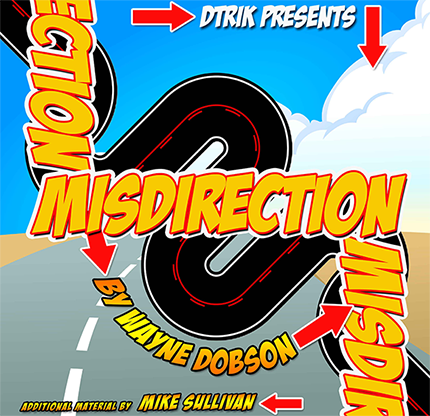Misdirection (Book and Online Instructions)  by Wayne Dobson - Book