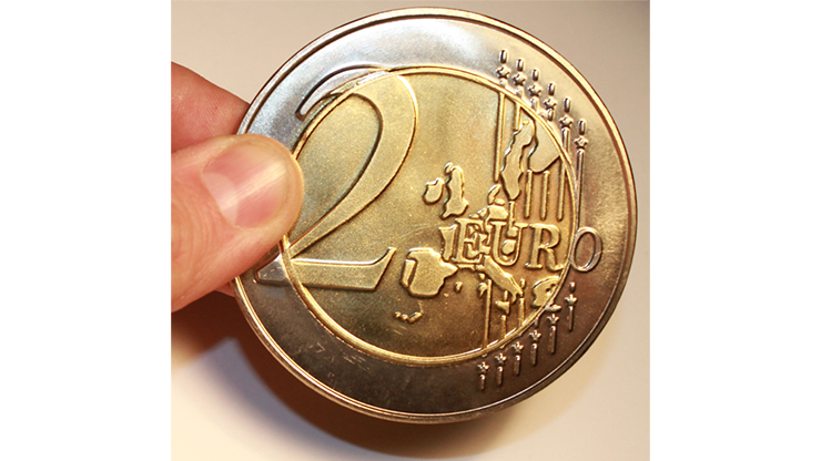 Jumbo 2 Euro Economy coin - Trick