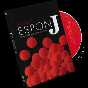 TECNICAS DE MAGIA CON ESPONJAS (Sponge Ball Techniques/ Spanish Only) - DVD