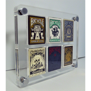 6 Deck Card Case by Gambler's Warehouse - Trick