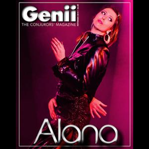"""Genii Magazine """"Alana"""" November 2014 - Book"""