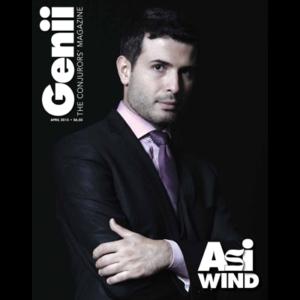 "Genii Magazine ""Asi Wind"" April 2015 - Book"