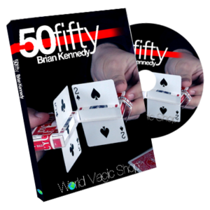 50 Fifty (DVD and Gimmick) by Brian Kennedy - DVD