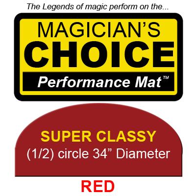 Super Classy Close-Up Mat (RED