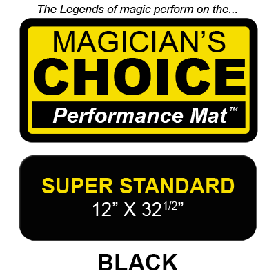 Bartender's Choice Close-Up Mat (BLACK Super Standard - 12x32.5) by Ronjo - Trick