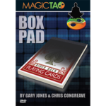 Box Pad (RED) DVD and Gimmick by Gary Jones and Chris Congreave - Tricks