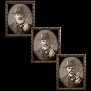 Changing Portrait - Uncle Jed (5 x 7) by Eddie Allen - Trick