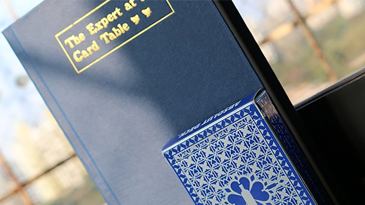 Expert At The Card Table Journal (Blue) by Magic Encarta - Book