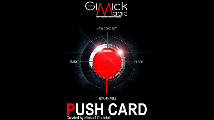 PUSH CARD (French) by Mickael Chatelain  - Trick