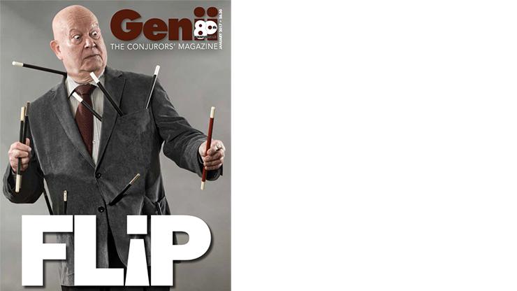 "Genii Magazine ""FLIP by Dustin Stinett"" January 2017 - Book"