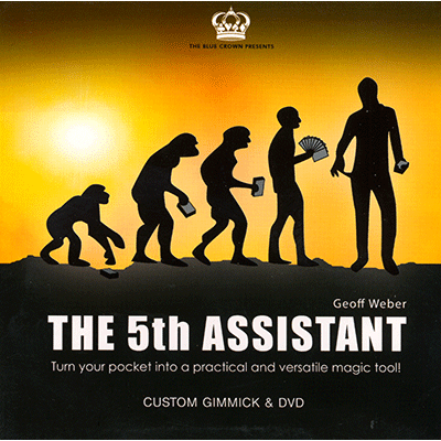 5th Assistant (Gimmick and DVD) by Geoff Weber and The Blue Crown - DVD