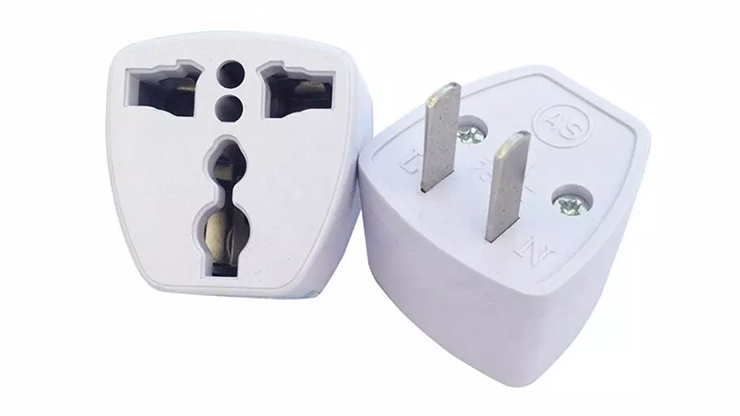 AC Electrical Power UK AU EU To US Plug Adapter Converter USA Universal Power Plug Adaptador Connector - Other