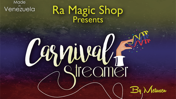 Carnival Streamer Christmas (Red