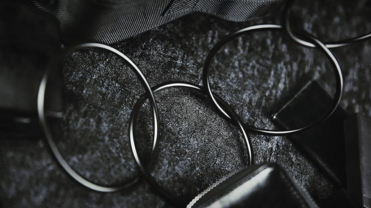 "4"" Linking Rings (Black) by TCC - Trick"