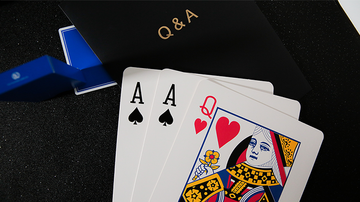 Q & A Jumbo Three Card Monte by TCC - Trick
