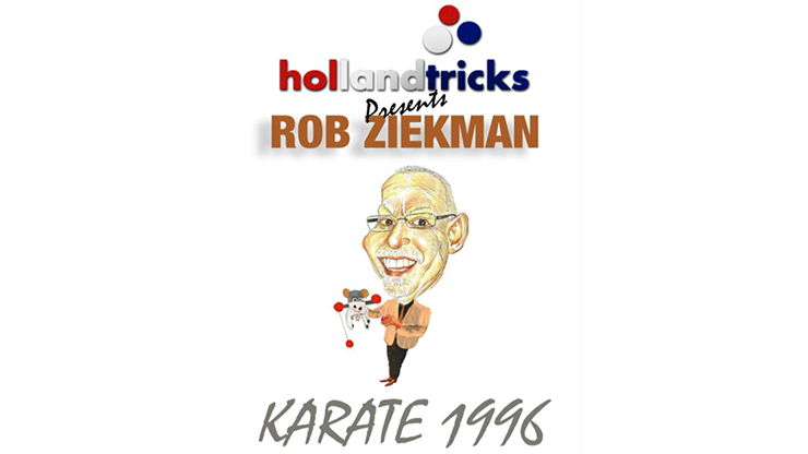 Holland Tricks Presents Rob Ziekman Karate 1996 (Gimmicks and Online Instructions) - Trick
