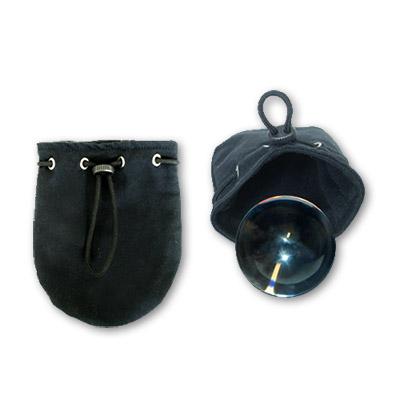 Canvas Ball Bag (80 MM) for Contact Juggling Balls & Chop Cups by Dr. Bob's Magic Shop - Trick