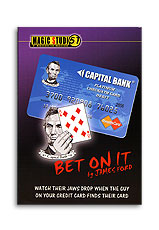 Bet on It Credit Card trick James Ford & Magic Studio 51