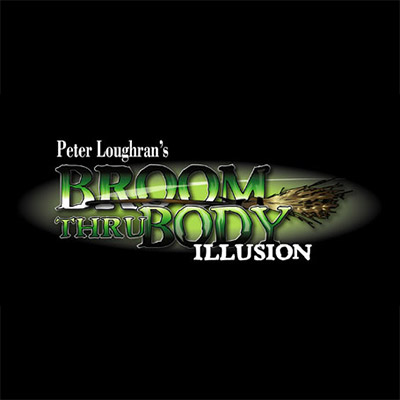Broom Thru Body Illusion by Peter Loughran - Trick