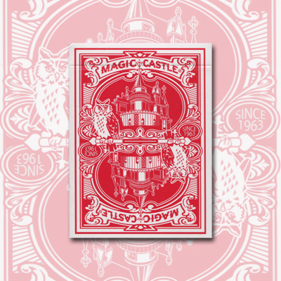 Magic Castle Cards (Red)