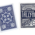 Cards Tally Ho Fan Back Poker size (Blue)