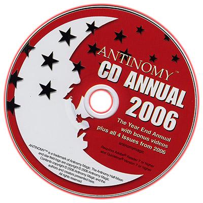 CD Antinomy Annual Year 2 (2006) - DVD