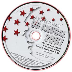 CD Antinomy Annual Year 3 (2007) - DVD