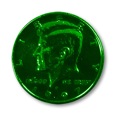 Multi Colored Half Dollar (Green)