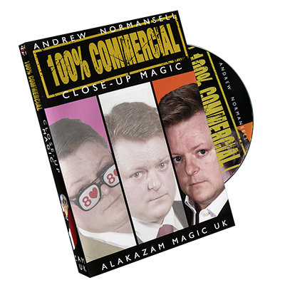 100 Percent Commercial Volume 3 - Close-Up Magic by Andrew Normansell - DVD
