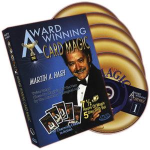 Award Winning Card Magic (5 DVD Set) by Martin Nash - DVD