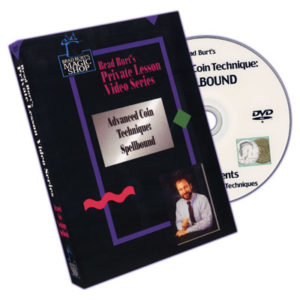 Advanced Coin Technique: Spellbound by Brad Burt - DVD