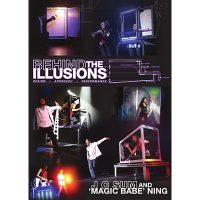 """Behind the Illusions by JC Sum & """"Magic Babe"""" Ning - DVD"""