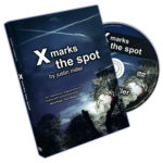 X Marks The Spot (With Cards) by Justin Miller - DVD