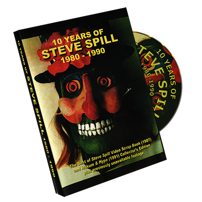 10 Years of Steve Spill 1980 - 1990 by Steve Spill - DVD