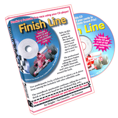 Finish Line (w/ CD) by Larry Becker and Lee Earle - Trick