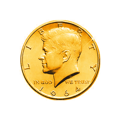 Gold Plated half Dollar