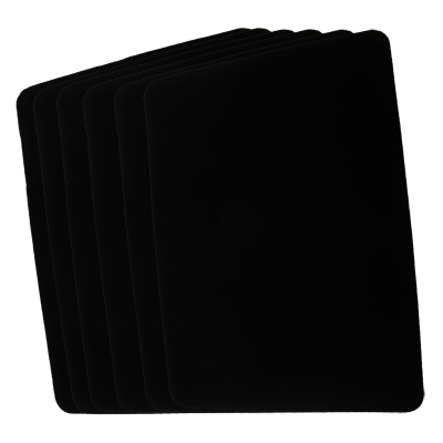 Close Up Pad 6 Pack LARGE (Black 12.75 inch  x 17 inch) by Goshman - Trick