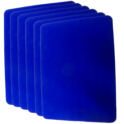 Close Up Pad 6 Pack LARGE (Blue 12.75 inch  x 17 inch) by Goshman - Trick