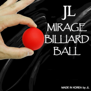 2 Inch Mirage Billiard Balls by JL (RED