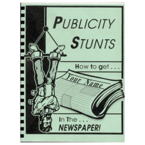 Publicity Stunts book