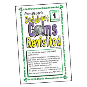 Ron Bauer Series: 1 - Gadabout Coins Revisited - Book