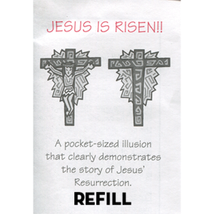 Jesus is Risen refill box by Top Hat Magic - Trick