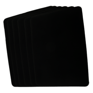 Small Close Up Pad 6 Pack (Black 8.5 inch  x 12 inch) by Goshman