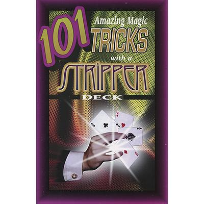 101 Amazing Magic Tricks with a Stripper Deck by Royal Magic - Book