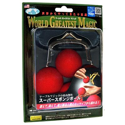 Super Sponge Balls (T-217) by Tenyo Magic - Trick