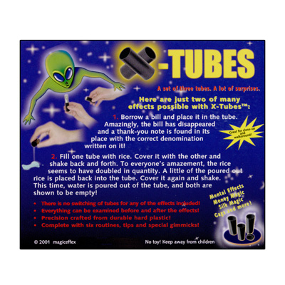 X-Tubes by Magic Effex - Trick