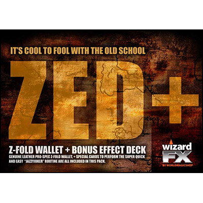Zed Wallet (With Jazzy Joker Trick) by World Magic Shop - Trick